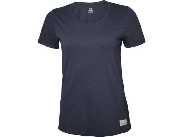 North Bend Slub T-Shirt Damen dunkelnavy
